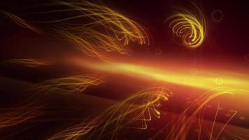 gráfico abstrato de raios voadores