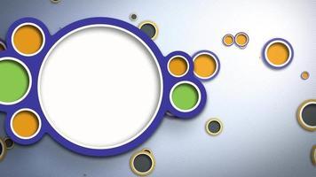 gráfico abstracto círculos giratorios