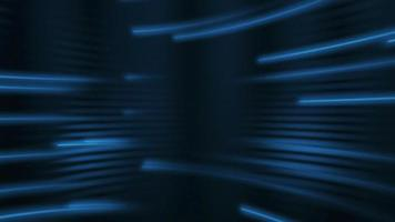 Abstract Blue Neon Rays Background video