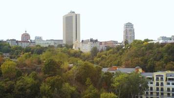 bela vista da cidade de kiev video