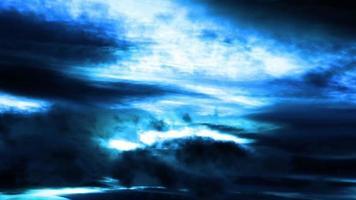 lapso de tiempo de cielo de fantasía azul
