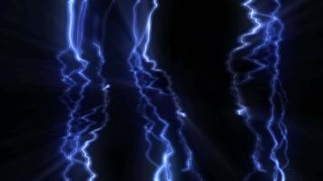 fundo de eletricidade azul abstrato