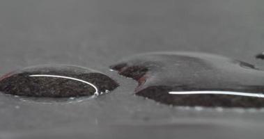 gotas de agua de fondo