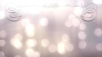 Bokeh Lake 4K Wedding Background