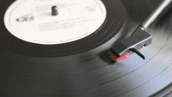 Vinyl-Disc abspielen