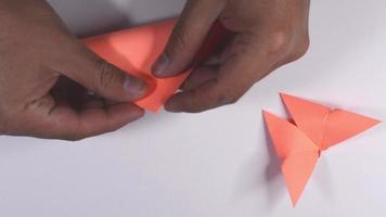 borboleta de origami video