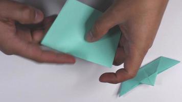 navio de origami video