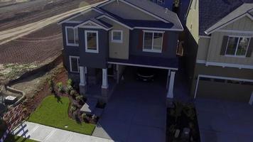 imagens aéreas sobre um novo conjunto habitacional video