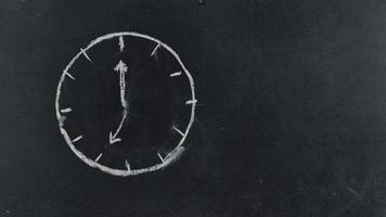 relógio stopmotion video