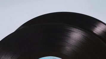 Stapel alter Vinylscheiben