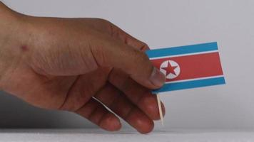 bandeiras do conflito da coreia do norte