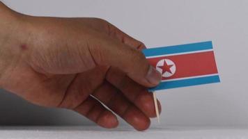 Nordkorea Konfliktflaggen