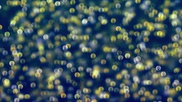 fundo abstrato com círculo bokeh brilhante video