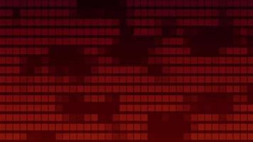 Gradientes de filas rojas que van hacia la izquierda y hacia la derecha sobre fondo rojo oscuro video