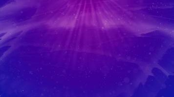 foschia di luce viola su terreno blu in 4K