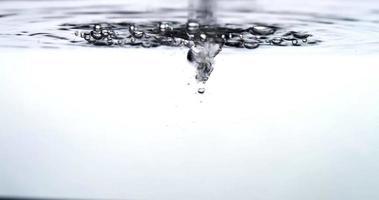 agua burbujeante