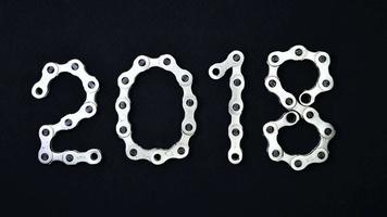 años de cadena de bicicleta 2018 2019 2020 stop motion