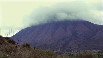 lapso de tiempo del paisaje del monte