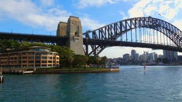 Harbor Bridge from Water 4K