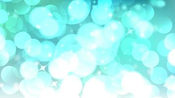 fundo azul abstrato luzes bokeh video