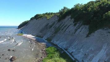 Coastal Landscape at Kap Arkona on Ruegen Island baltic Sea video