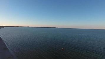 vista aérea sobre el mar báltico juliusruh island ruegen