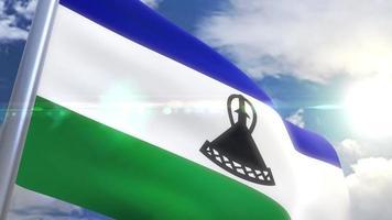 Bandeira do Lesoto