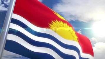 animação da bandeira do kiribati