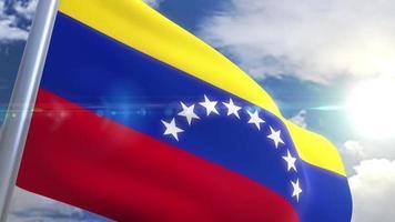 animação da bandeira da venezuela