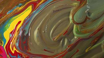 mezcla de pinturas vibrantes