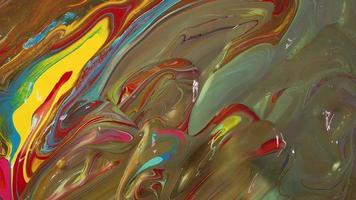 mezcla de pinturas de colores primarios
