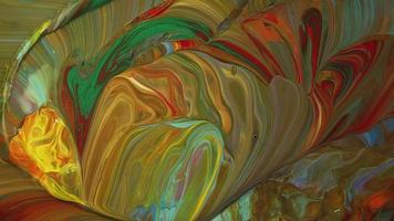 mezcla de pinturas tibias