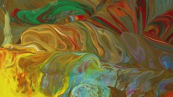 patrón de pinturas frías y calientes