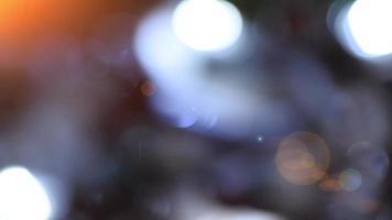 decoração de natal close-up. lâmpada elétrica brilhar com elementos de natal como decoração para férias close-up rack foco macro