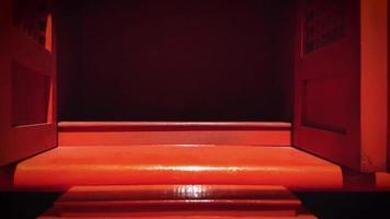 casinha vermelha