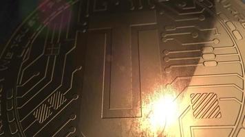 crypto monnaie utrust coin rendu 3d blockchain