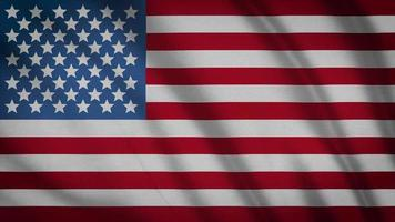drapeau des Etats Unis video