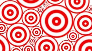 Círculos hipnóticos para bucle de fondo veejay