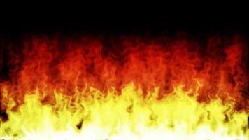 fuego y llamas encendiendo y quemando fondo