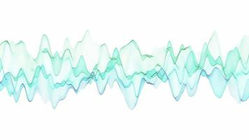 fundo gráfico de onda senoidal