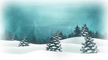 fundo de férias de feliz natal video