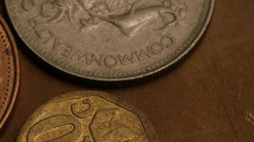 rotação de imagens de estoque de moedas internacionais - dinheiro 0373