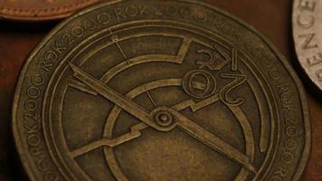rotação de imagens de estoque de moedas monetárias internacionais - dinheiro 0370