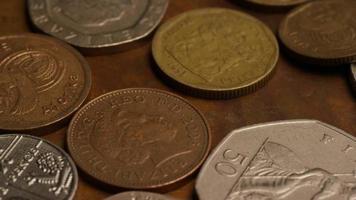 rotação de imagens de estoque de moedas internacionais - dinheiro 0365