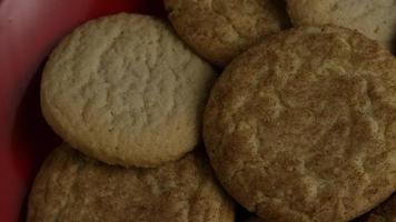Cinematic, Rotating Shot of Cookies on a Plate - COOKIES 149 video