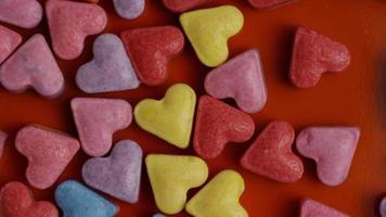 Imágenes de archivo giratorias tomadas de decoraciones y dulces de San Valentín - San Valentín 0087