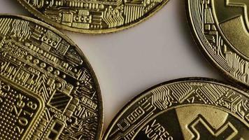 colpo rotante di bitcoin (criptovaluta digitale) - bitcoin 0341