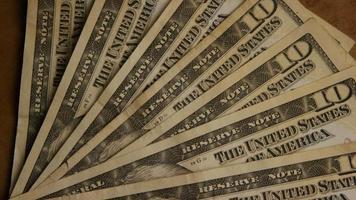 foto rotativa de dinheiro americano (moeda) - dinheiro 516