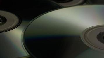 Disparo giratorio de discos compactos - cds 021