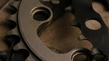 tir cinématique et rotatif des engrenages - engrenages 064